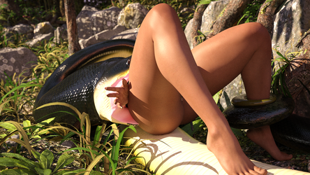 Jungle Girl Photoshoot P6 by ApexDiner