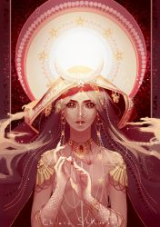 Oh my goddess by Hebes-drawings