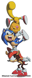 Sonic Mighty and Ray flip out. by LuLuLunaBuna