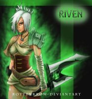 League of Legends: Riven by RottenKrow