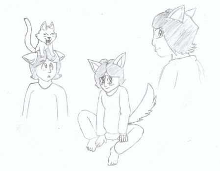 Dogboy Sketches by Ardhamon