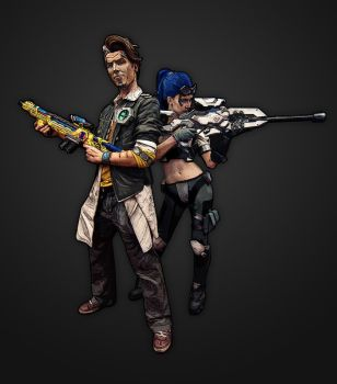 Borderlands Overwatch by petrpedros