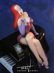 Jessica Rabbit (close up) by TrevorGrove