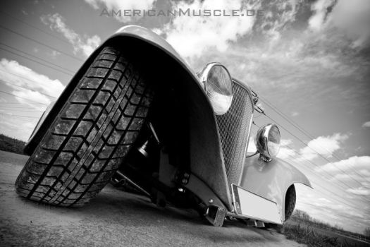 1932 Blown Ford Coupe VII by AmericanMuscle