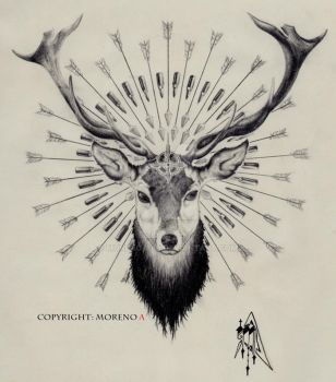 Holy Deer by Moreno-A88