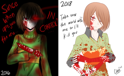 2 years later [Chara redraw] by CNeko-chan