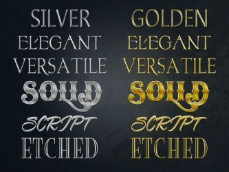 Gold and Silver styles by Nulumia