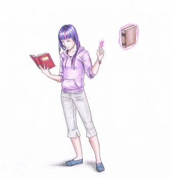 She's Reading a Book... again by vasira