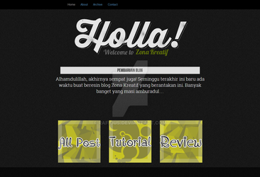 Template ZK Holla Theme by Rafiqus