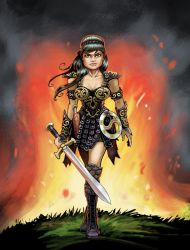 Xena 01 LowRes by ChuckWhelon