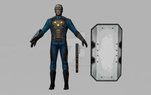 Nova Corps Soldier (3D Model MFF) by Pitermaksimoff