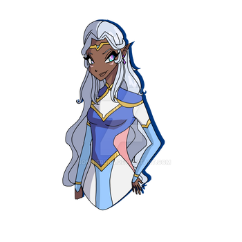 Princesse Allura by Bonniebun4