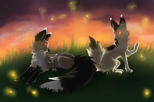 I hold sunlight and swallow fireflies by cree-p