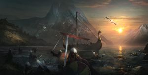 Attack of Vikings. Tightrope Games by SergeyZabelin