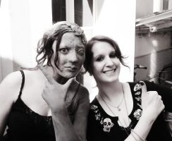 backstage weeping angel II by made-me-a-monster