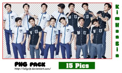 B.I (iKON) - PNG pack (Smart Uniform) by LollyVip