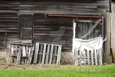 Pallets Put Out To Pasture  by peterkopher