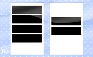 Templates ll Rectangle by Raichiax