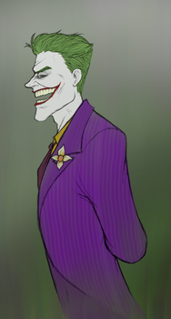 Joker sketch by JTCreepyface8743