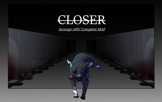 CLOSER|SCOURGE - complete map (without signature) by LupineIndigo