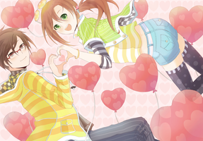 Love Balloons by minjei