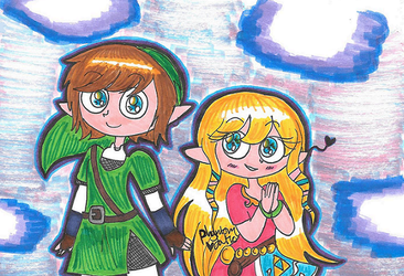 Skyward Sword Babes by PhantomLatte