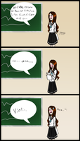 [SIA] Kazue's English Assignment by SparkleChord