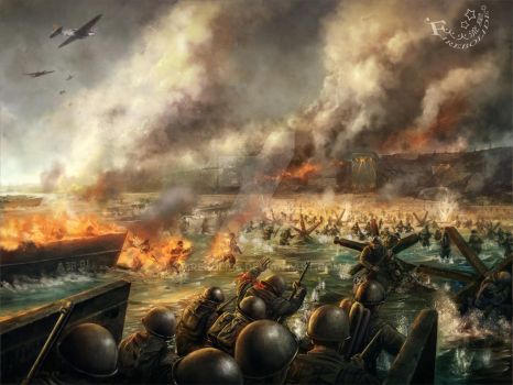 D-day by firebolide