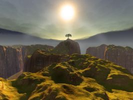 Lonely Paradise by adit