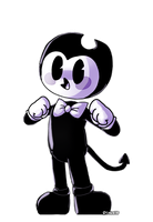 Bendy Boo by PinksieHeartwishes
