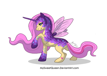 [SOLD] Fairy Pony Adoptable by Almairis