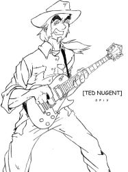 Ted Nugent by 54grafx