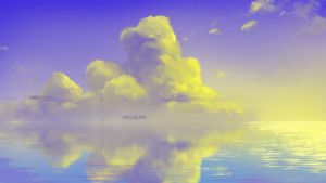 yellow cloud by mclelun