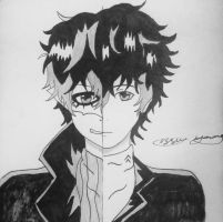 Persona 5 protagonist complete by epicbubble7