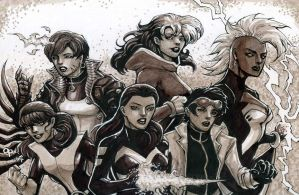 X-Women by olybear