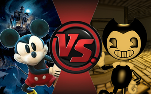 CFC|Mickey Mouse vs. Bendy by Vex2001