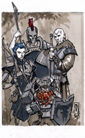 DnD Party (Convention Commission) by dForrest