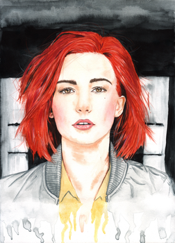 Nicole Haught/Katherine Barrell by alechan92