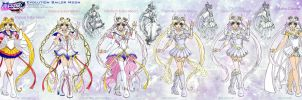 SMA: SailorMoon evolution by Lucithea