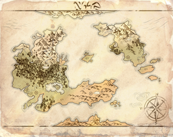 World of Taar Map by ArkanFire
