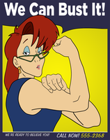 Janine the Riveter by GhostbustersNews