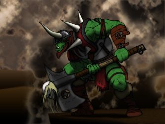 orcish by nature by INovumI