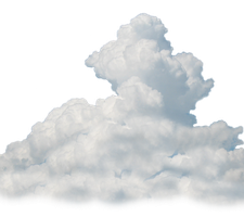 Cloud png by TheStockWarehouse