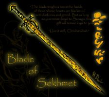 Reference: Blade of Sekhmet by Chrishankhah