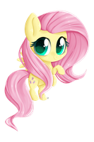 Fluttershy Chibi by Dari-Draws