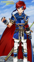 Fire Emblem Heroes - Roy (iPhone 6 Wallpaper) by russell4653