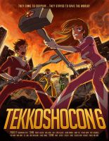 Tekkoshocon Program Cover by bigbigtruck