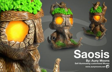 Saosis Munny by auny-moons