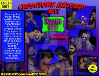 From ROOM 925 CROSSTWN MATCHUP No11 by artdartist
