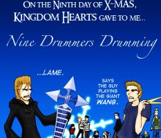 On the Ninth Day of X-mas.... by terriblenerd